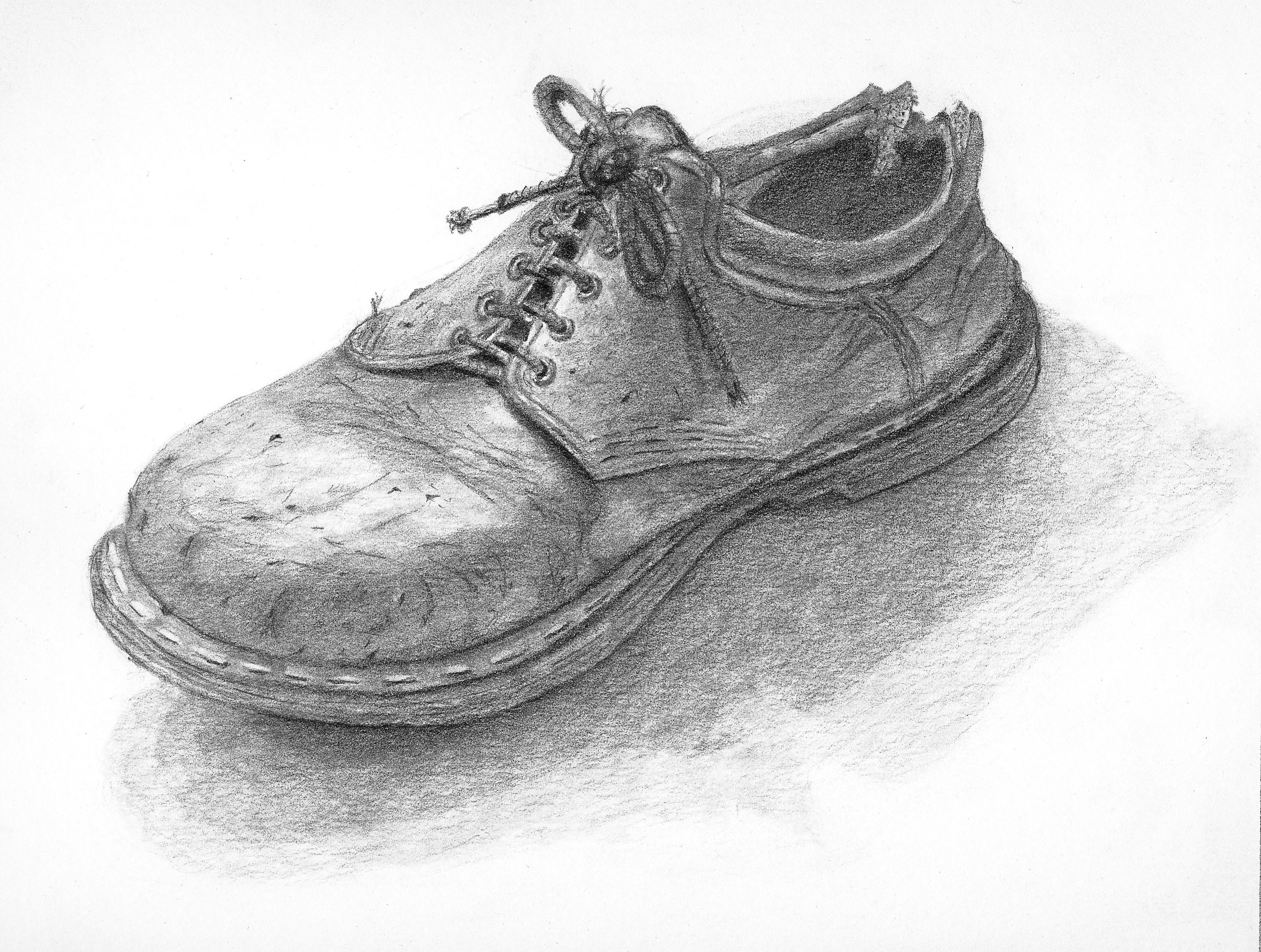 Tennis Shoe Drawings for Sale